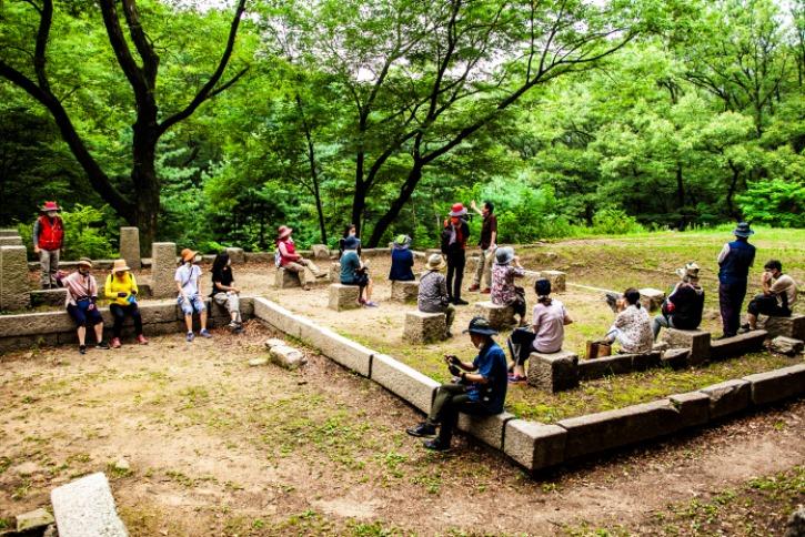 대백석동천 조선시대의 별서가 있었던곳 건물터 ....jpg